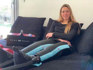 Témoignage Game Ready Triathlète Charlotte Morel